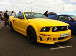 Mustang Convertible Northern Ireland Larne Car Show