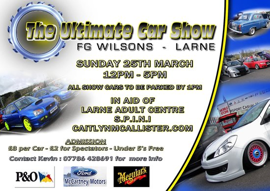 Ultimate Car Show Larne 2012