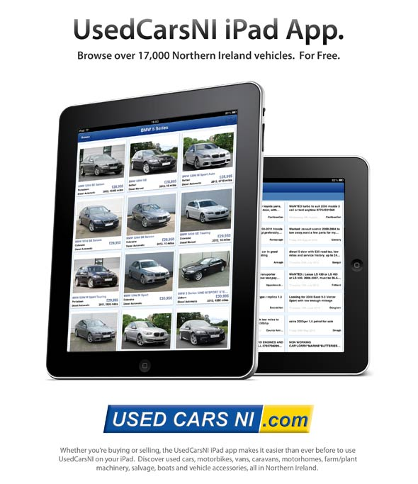 UsedCarsNI iPad App Launched