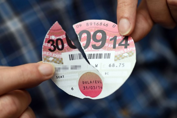 tax-disc-torn