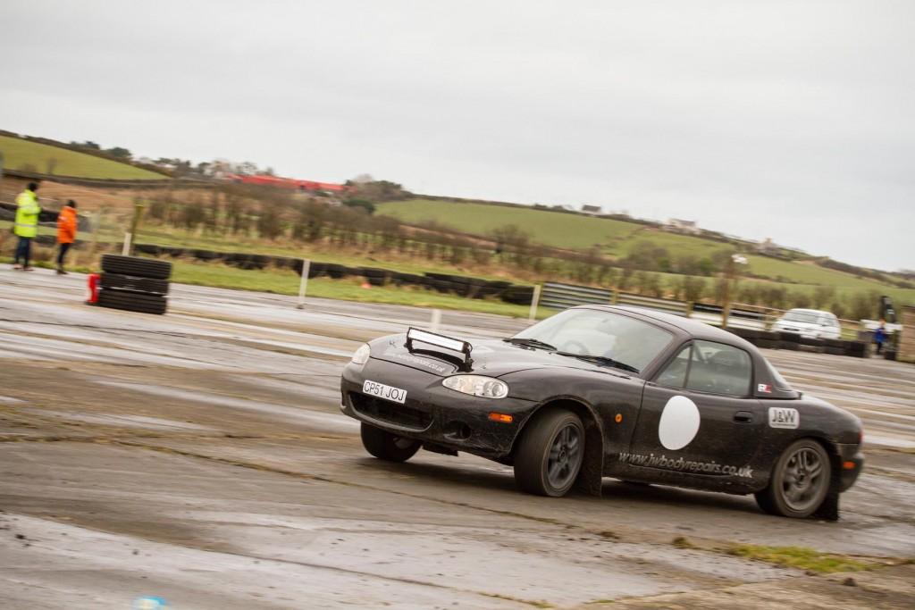 3rd overall - Mark Faulkner )Mazda MX-5)