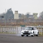 David Meade enjoys a run out with Alan Carmicael in the Skoda Fabia S2000