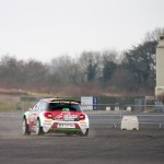 Double world boxing champion Carl Frampton enjoys a spin out with Jonny Greer in the Citroen DS3 R5