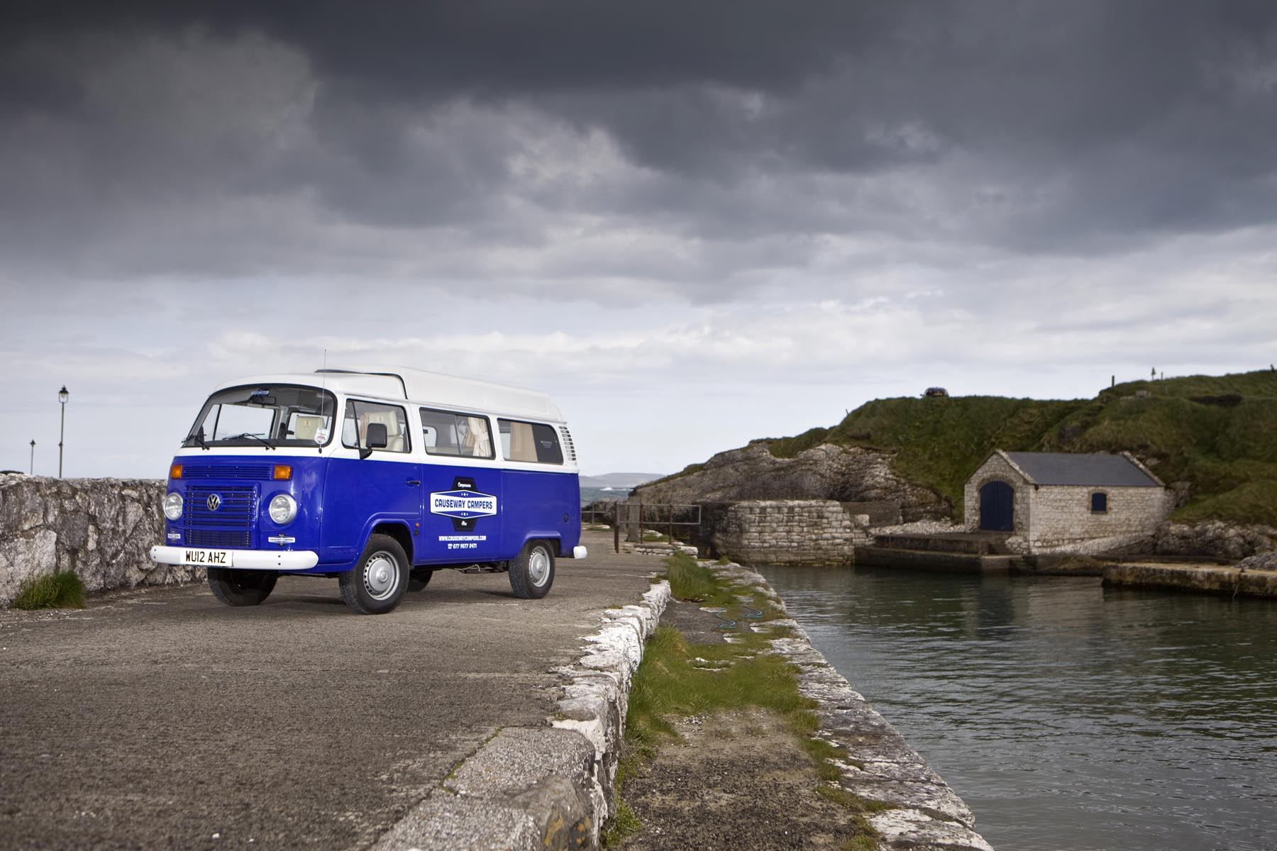 WE DISCOVER NORTHERN IRELAND AND TICK THE VW CAMPER VAN OFF THE
