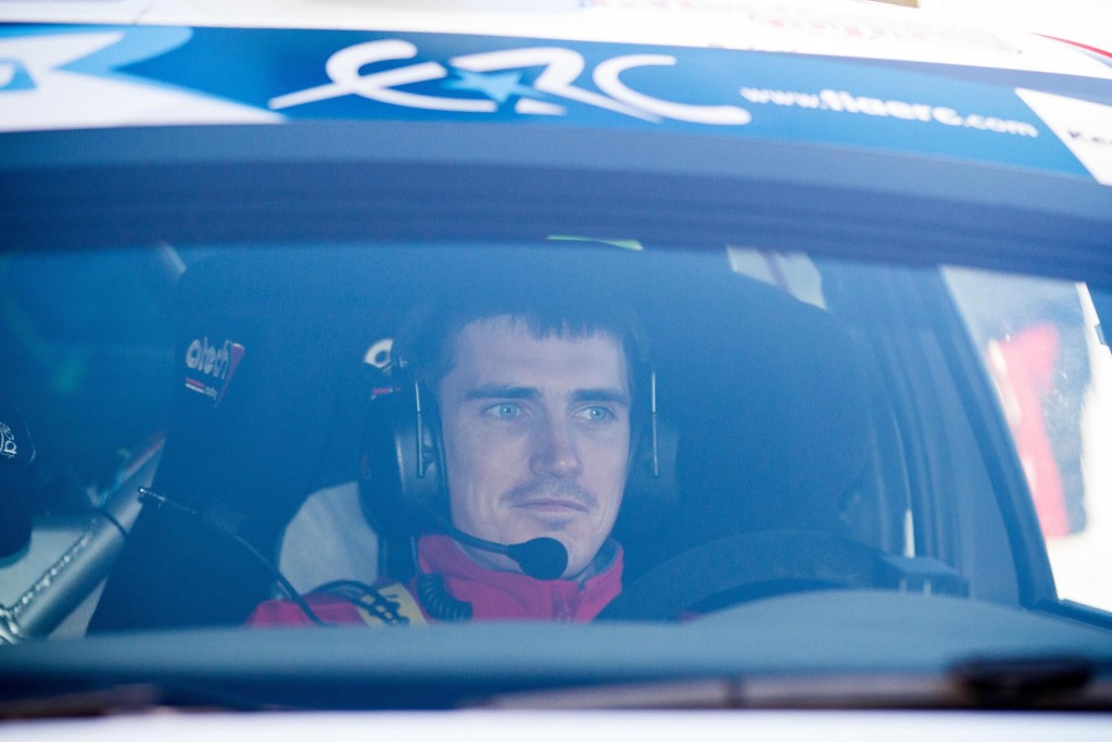 Winner of the 2016 ERC Circuit of Ireland Craig Breen
