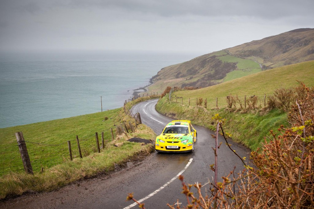 Ollie Mellors on The Glens in his Proton Satria