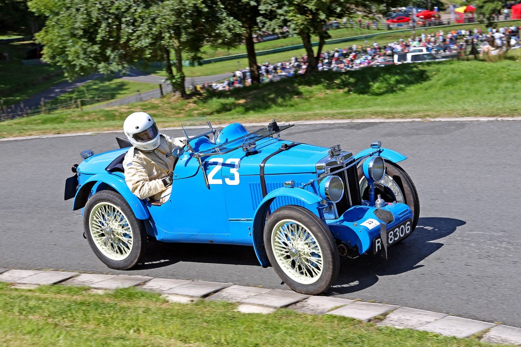 Chris Chadman driving his 1931 746cc Supercharged, MG C Type.