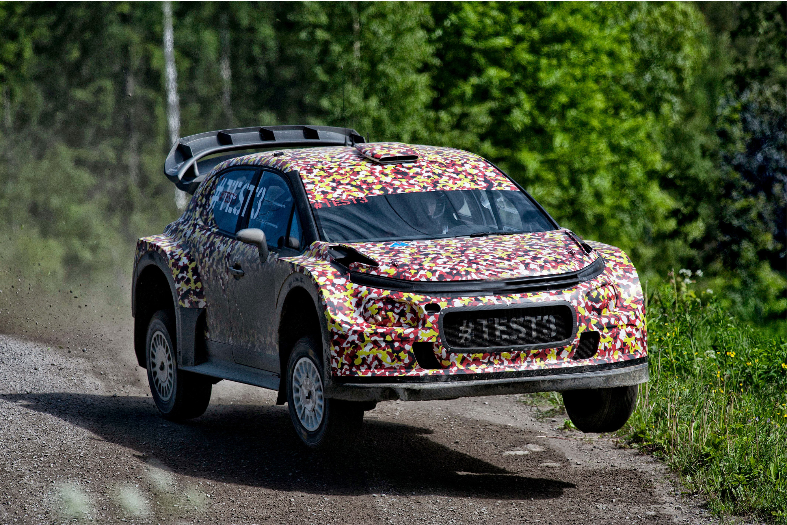 Irishmen Test All New Citroen Racing World Rally Car In Finland