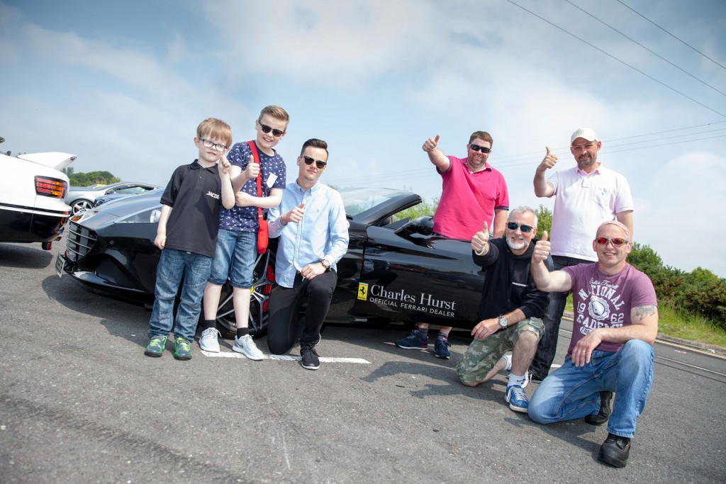 L-R; Jacob Craig (Jacob's Supercars), Jack Milton (#TeamJackMilton), Josh Milton (#TeamJackMilton), Damo Walsh (Renegade Run), David Doyle (Renegade Run), Iain Craig (Jacob's Supercars), Ricky Jones (Renegade Run)