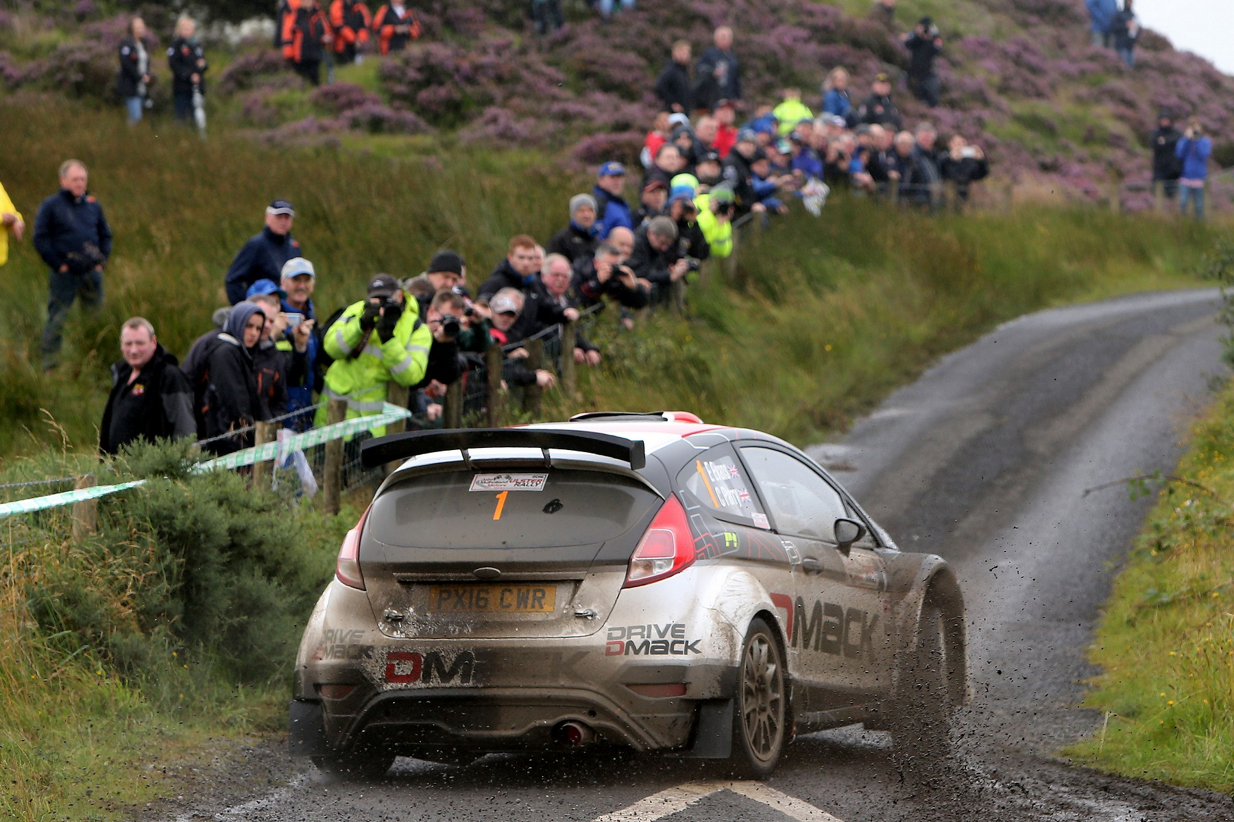 Champion S Drive By Elfyn Evans On Ulster Rally Used