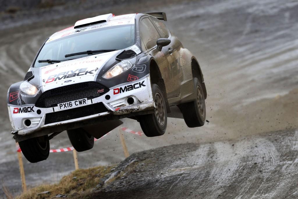 Elfyn Evans / Craig Parry Ford Fiesta R5