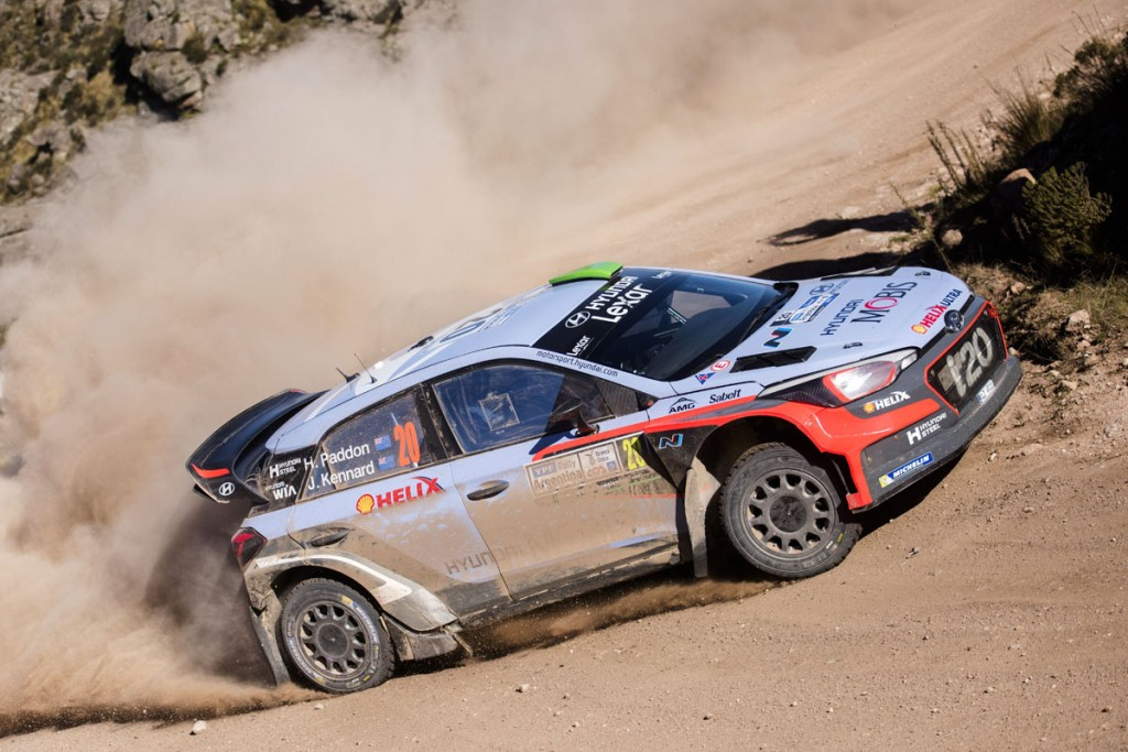Hyden Paddon won in Argentina