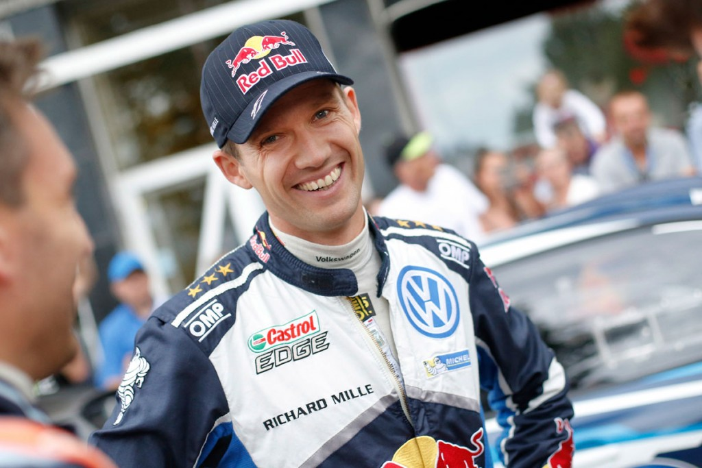 Sebastien Ogier is targeting a fourth straight win in Wales
