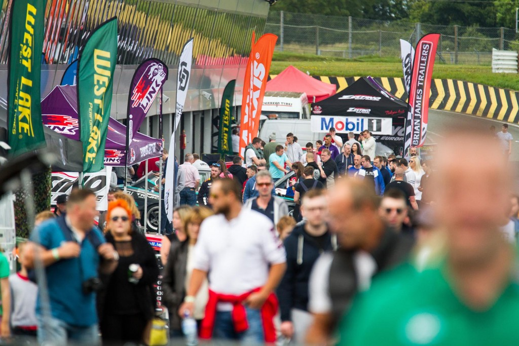 Up to 10,000 spectators packed into Mondello Park for Global Warfare 4