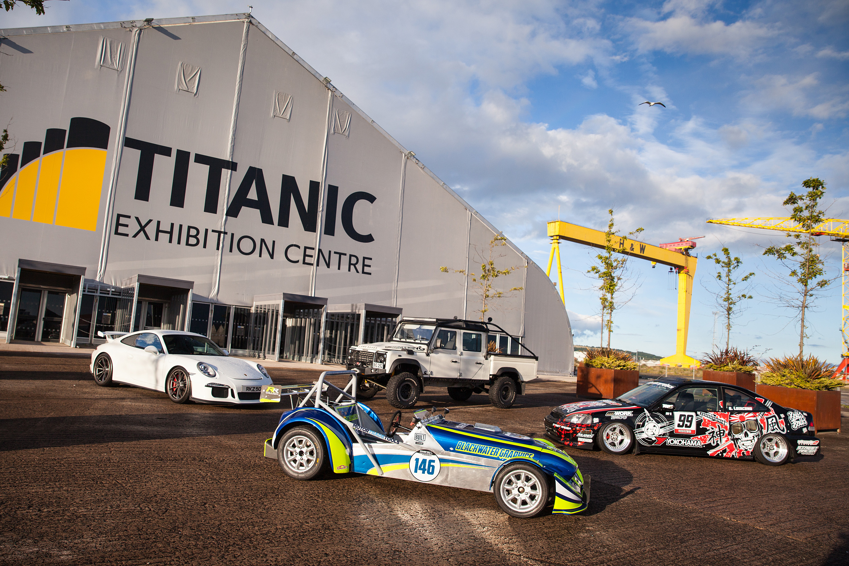 NEW AUTOMOTIVE SHOW COMING TO BELFAST Used Cars NI Blog - Sports cars ni