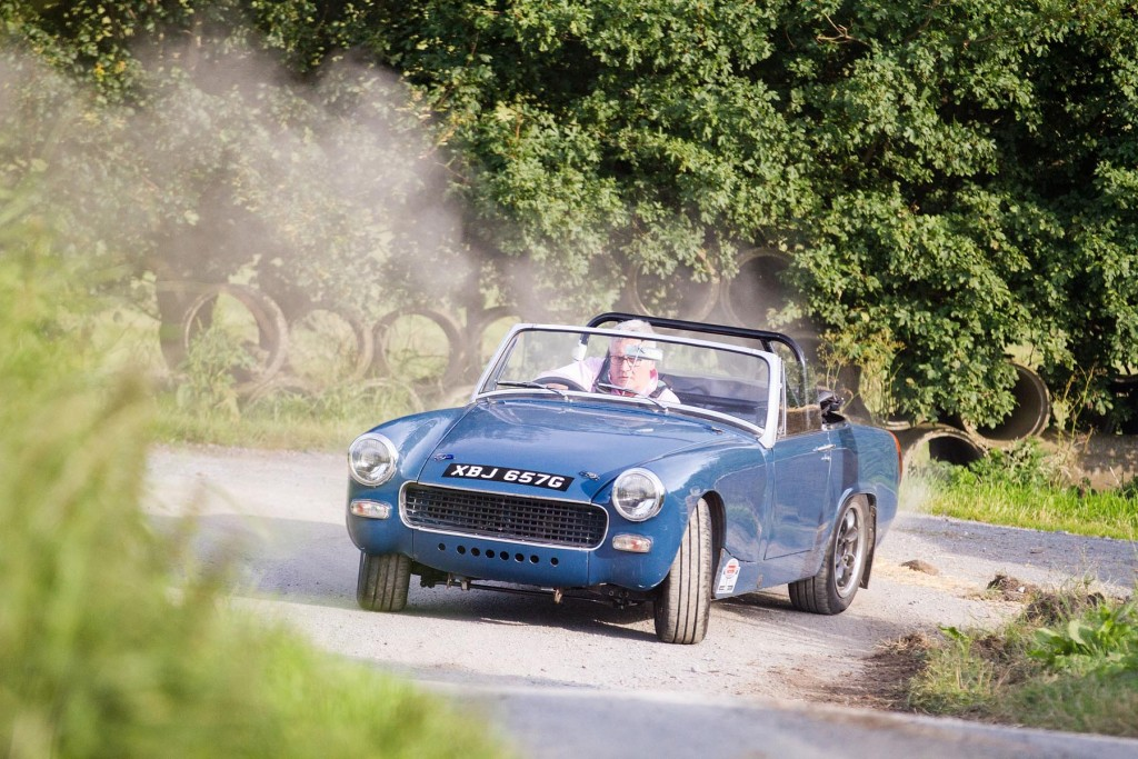 A very flamboyant MG Midget