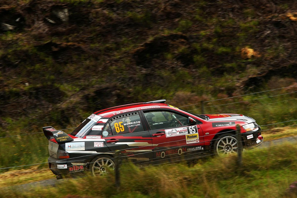 John Morrison became National Rally Cup Champion