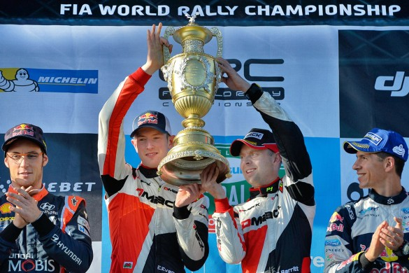 Elfyn Evans makes history at home in Wales