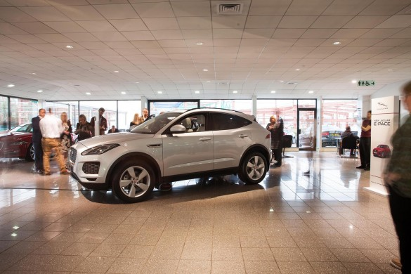 NEW JAGUAR Eu2011PACE REVEALED IN BELFASTu2026 & Car news in Northern Ireland u2013 UsedCarsNI blog markmcfarlin.com