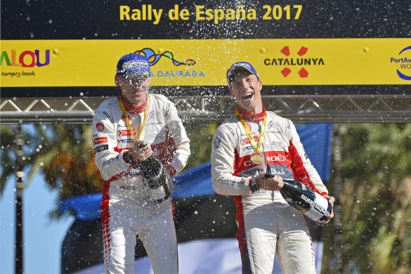 FIA WORLD RALLY CHAMPIONSHIP 2017 -WRC Catalunya (SPA) -  WRC 05/10/2017 to 08/10/2017 - PHOTO : @World
