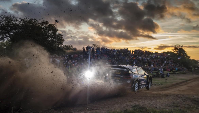 2017 FIA World Rally Championship, Round 11, Rally RACC Catalunya / Rally de España, 5-8 October, 2017, Ott Tanak, Ford, action, Worldwide Copyright: LAT/McKlein