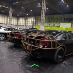 The set and the cars that can be seen performing mind-blowing stunts during the show which is set to roll into Belfast's SSE Arena in May 2018