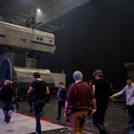Media descending on the Fast & Furious Live set at the live dress rehearsal today at the NEC in Birmingham