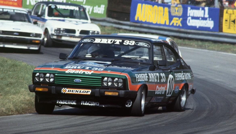 Oulton Park, England. 13th April 1979. Rd 2.  Stuart Graham, Ford Capri 3.0, 2nd position.  World Copyright: LAT Photographic
