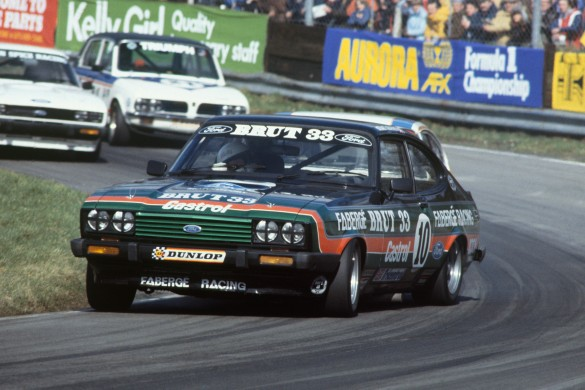 Oulton Park, England. 13th April 1979. Rd 2.  Stuart Graham, Ford Capri 3.0, 2nd position.  World Copyright: LAT Photographic