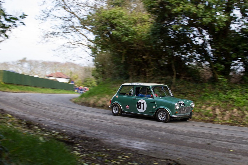 Gerry McGarrity took the Class 16a win