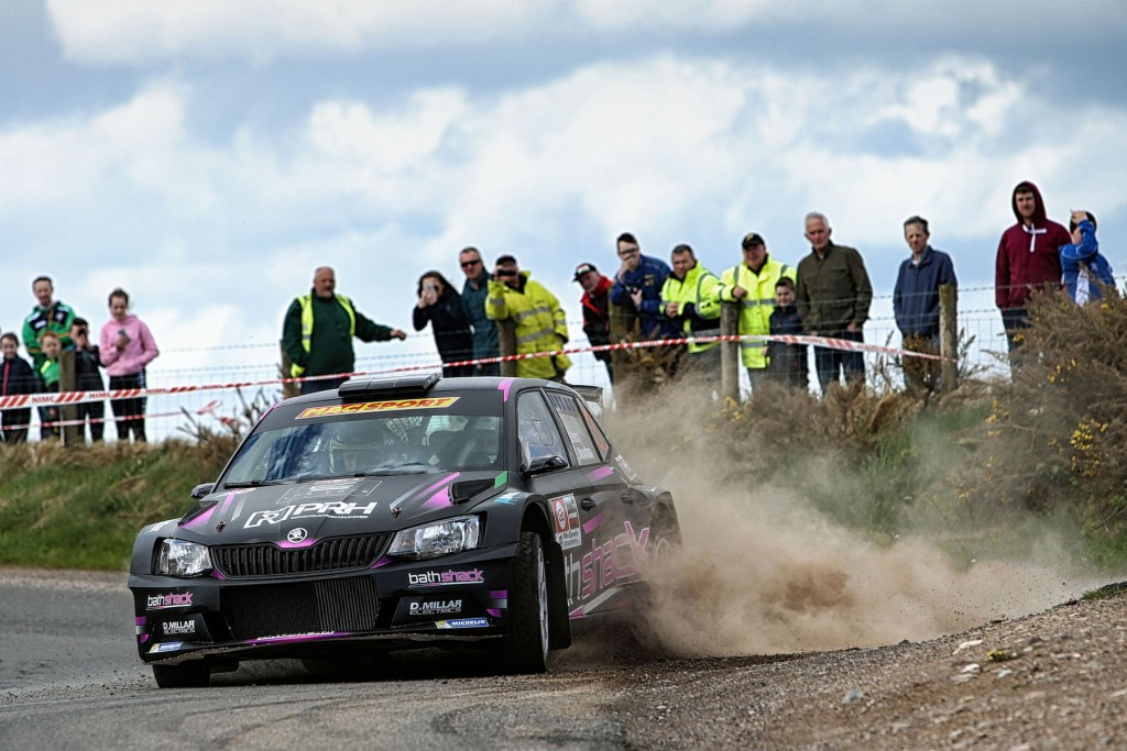 Desi Henry and Liam Moynihan won the 2018 Go Tour of the Sperrins Rally. image: William Neill/NEILLPICS.CO.UK