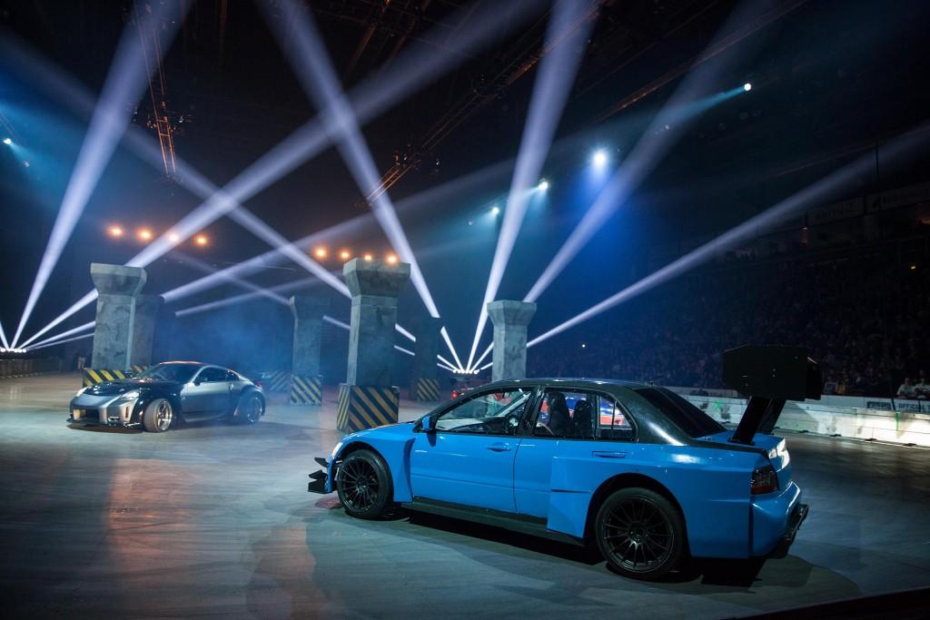 Tokyo Drift scene within Belfast's SSE Arena