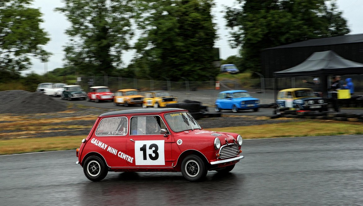 Arron Forde in a Galway Mini Centre Mini