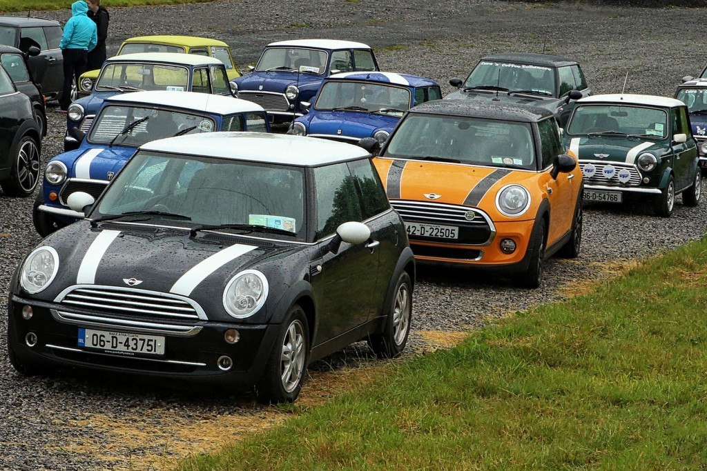 Mini owners were welcome to join...