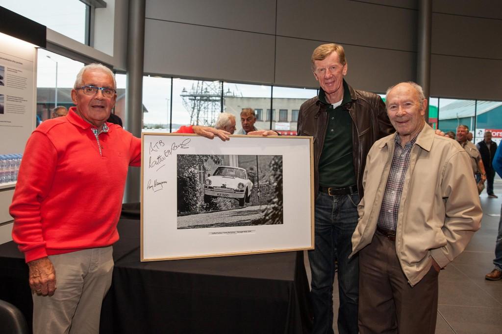 L-R; Cahal Curley, Walter Rohrl, Terry Harryman...