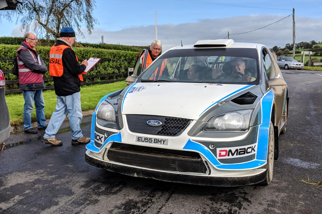 Derek McGarrity retired when he arrived into service but still won the N.I. Championship. pic:Jonathan MacDonald
