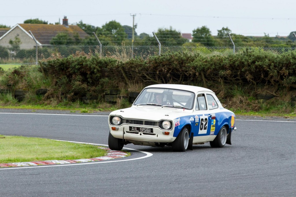 Stephen Strain chose a less conventional angle to tackle the hairpin...