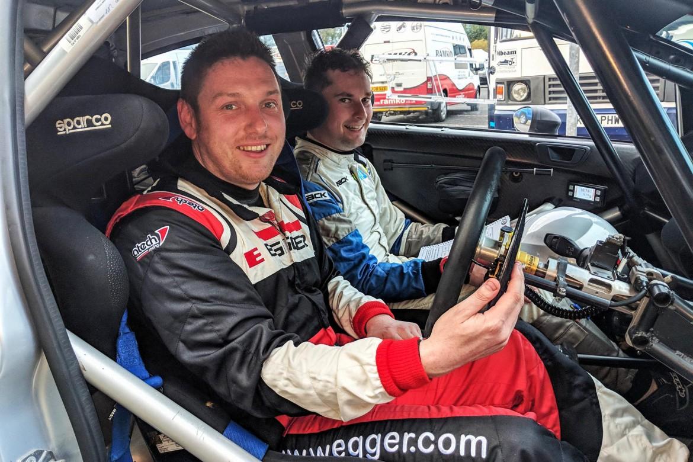 Winners Connor McCloskey and Noel O'Sullivan. Image: Jonathan MacDonald