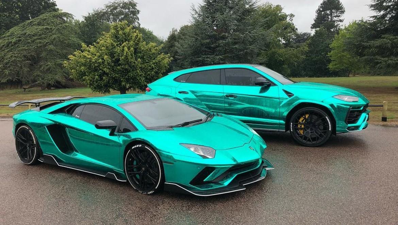 NeroDesign Lamborghini Aventador S and Urus