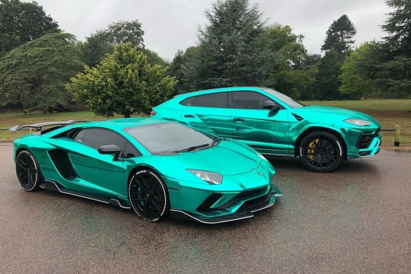 NeroDesign Lamborghini Aventador S and Urus