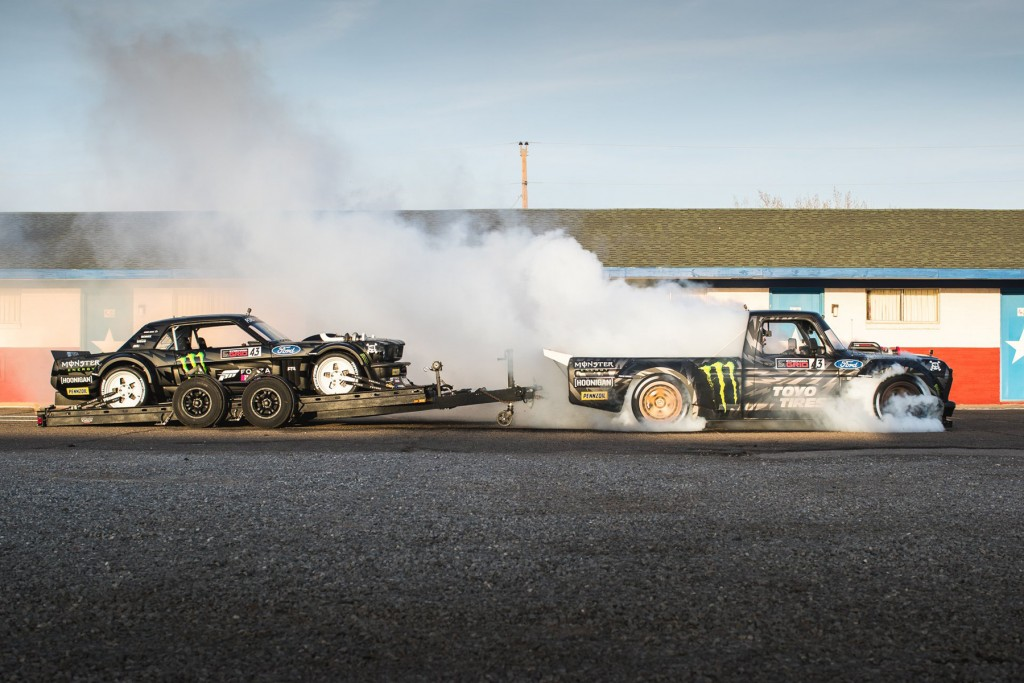 Gymkhana Ten - Image courtesy of www.hoonigan.com