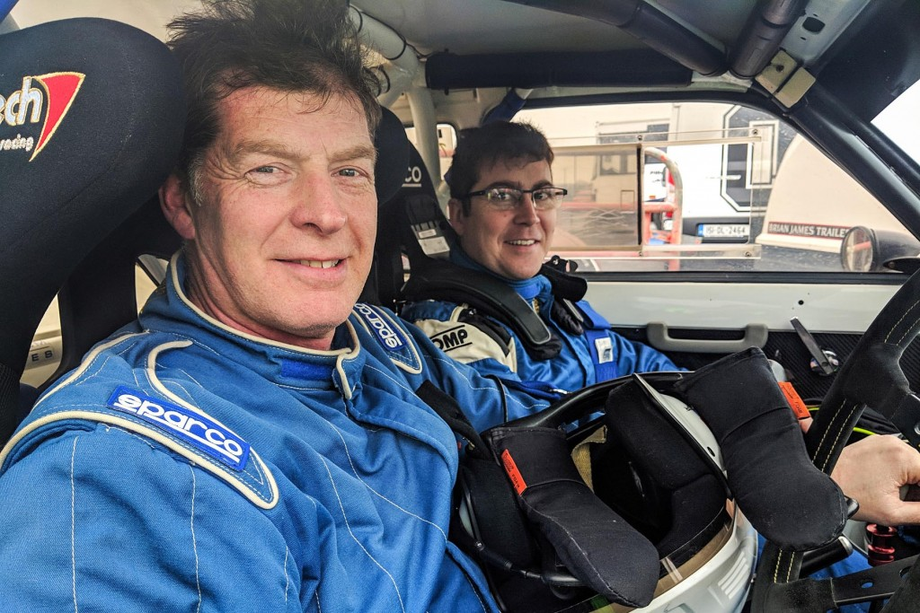 2nd in the 2WD Category: Keith White and Paul Mulholland. picture:Jonathan MacDonald/MOTORSPORTPR.COM