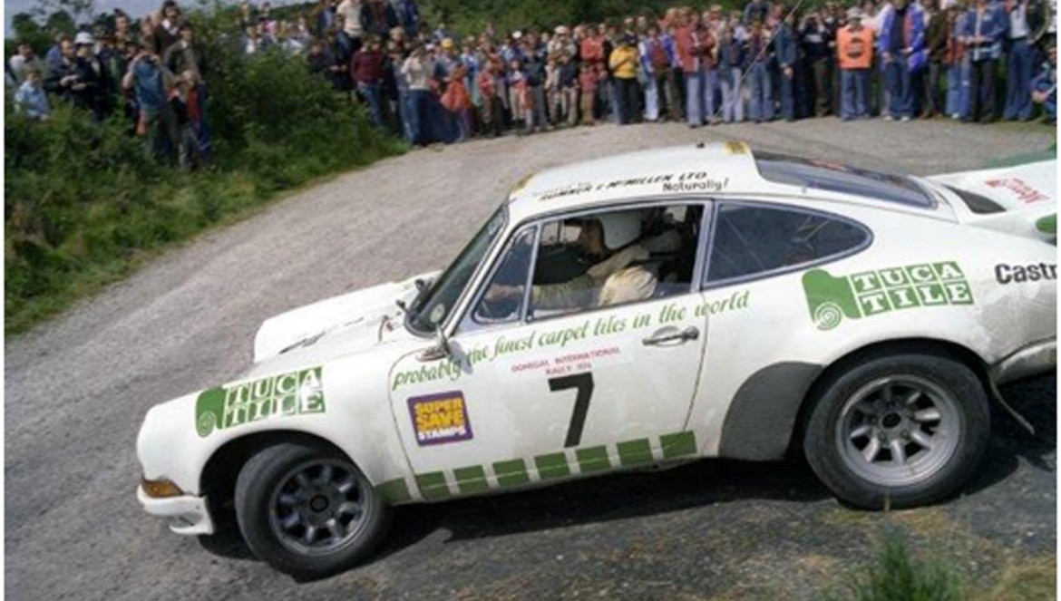 Brian Nelson is the only person to have won both of Ireland's premier racing and rallying championships - Photo courtesy of Esler Crawford Photography.