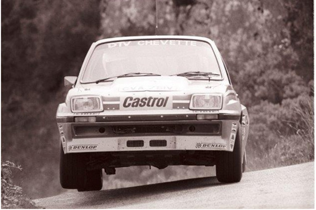 Jimmy McRae & Mike Nicholson Vauxhall Chevette HSR - Photo courtesy of Esler Crawford Photography.