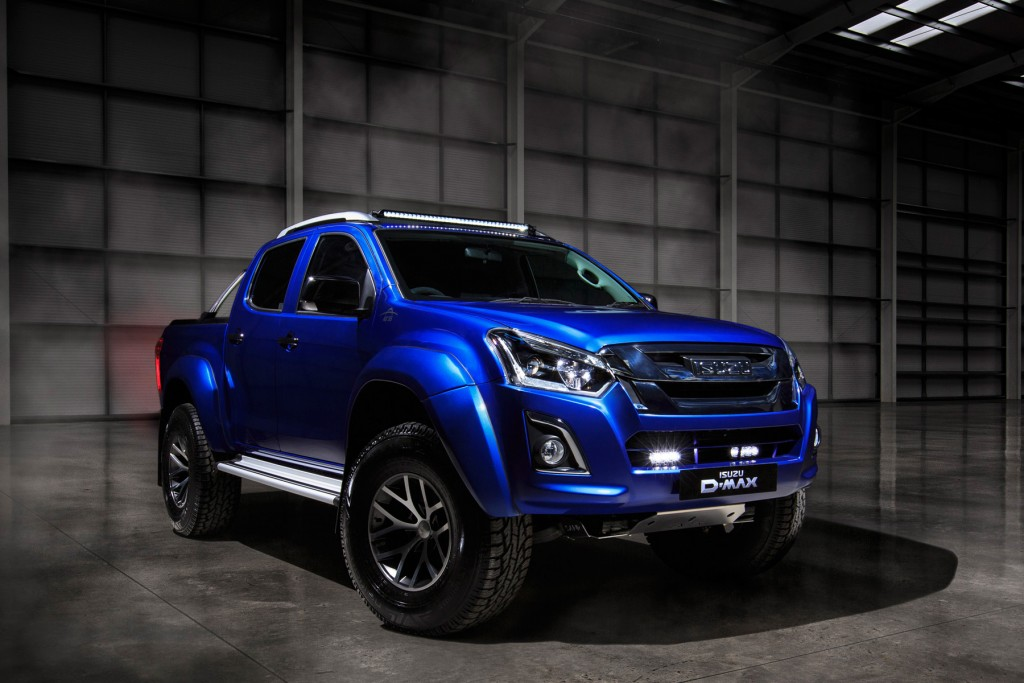 New D-Max Arctic AT 35 Safir Limited Edition