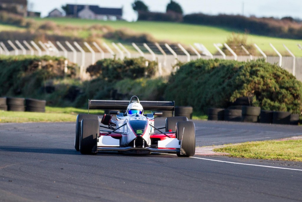 Current SW Adair Tyres Northern Ireland Sprint Championship leader, Adrian Pollock, in his Dallara F301 | Photo: GRAHAM BAALHAM-CURRY