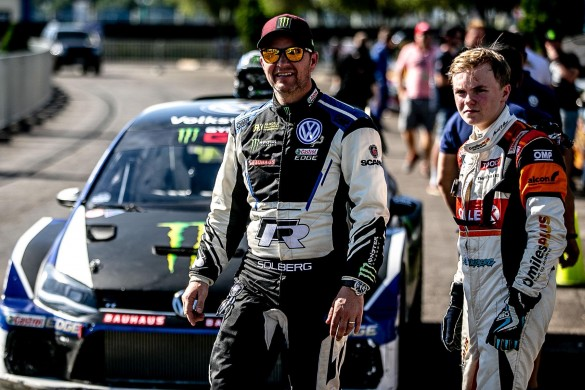 Petter and Oliver Solberg will contest 2019 Wales Rally GB