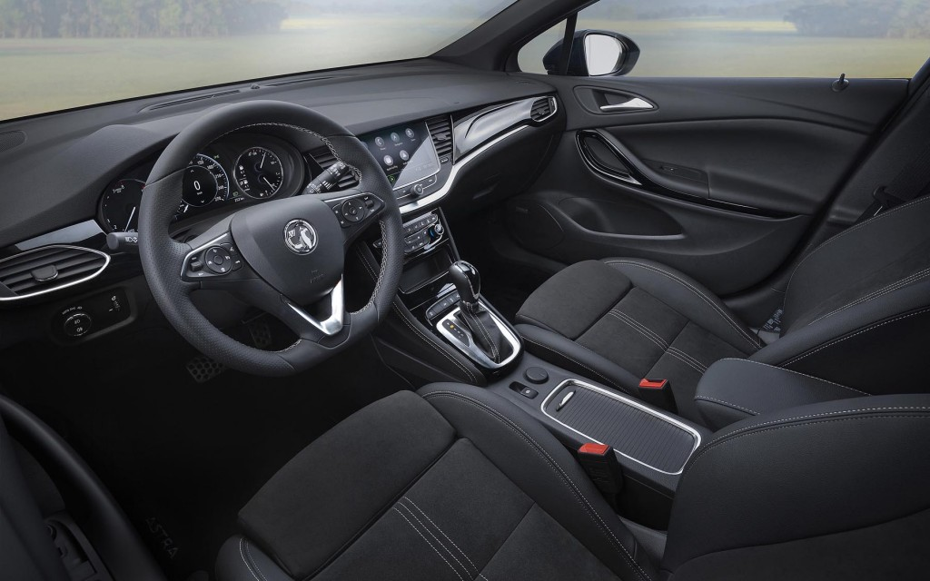 The new Vauxhall Astra