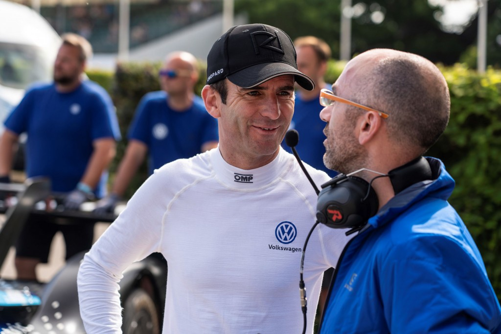 Romain Dumas, ID.R driver.