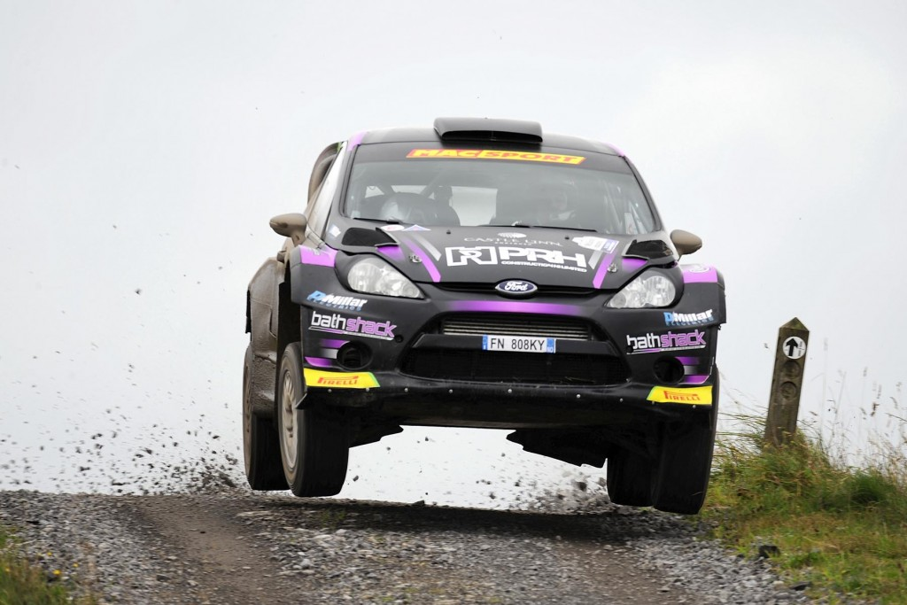 Rally winner Desi Henry picked up maximum N.I. Championship points |
